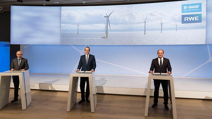 気候保護に向け新技術で協力 排出量ゼロの水素製造へ基本合意書を締結 BASF×RWE