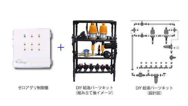 AI潅水施肥システム「ゼロアグリ」