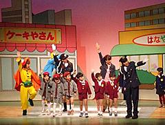 幼児、児童向けに交通安全ミュージカル