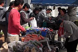 地域とのつながり深める収穫祭