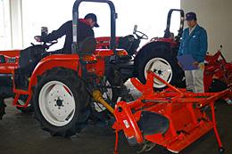 レベルが高いJAグループの農業機械検定制度の試験風景