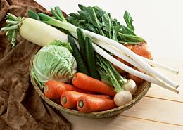 安全な国産野菜を食卓に