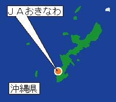 JAおきなわの地図