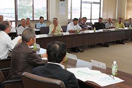 JAいわて中央農業法人連絡協議会の会議の様子