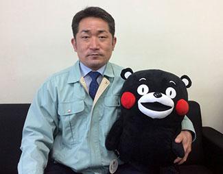 JA熊本経済連 東京事務所の佐藤所長